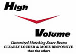 High Volume Drums